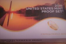 US Mint Replacement Box for 2015 Clad Proof Set with COA, NO COINS or LENSES