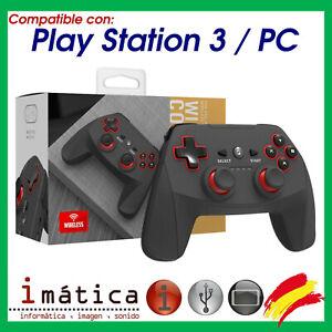 MANDO INALAMBRICO COMPATIBLE PARA SONY PLAY STATION 3 PC PS3 DUALSHOCK ORDENADOR