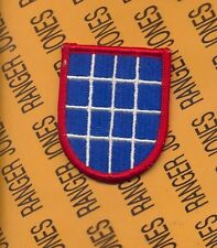 US Army 10th Military Police Bn CID Airborne beret flash patch m/e
