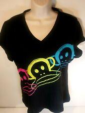 Paul Frank Women Size XL Short Sleeve T shirt  Black 2013