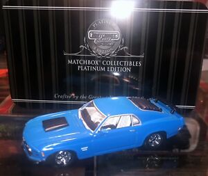 Matchbox Platinum Edition 92687 Ford Boss 429 Mustang 1970 Blue - 1:43 Scale