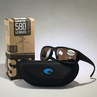 New Costa Del Mar-TF 01 OSCGLP-Fantail-Blackout-Silver Mir Glass-W580 Sunglasses