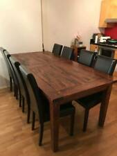 FREEDOM BRITTANY DINING TABLE AND CHAIRS 8-10 SEATER
