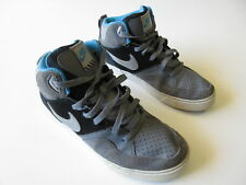 Boy's NIKE 'Court Tranxion' Sz 7 US Runners Grey Blue ExCon | 3+ Extra 10% Off