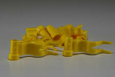 10x LEGO® City Fahnen, Flaggen 4495 neu gelb