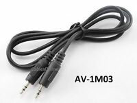 3ft 2.5mm Stereo Male to 2.5mm Stereo Male Audio Cable
