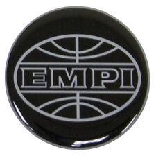 9664 EMPI X4 EPOXY LOGO BLACK/SILVER WHEEL CAP STICKER VW BUGGY BUG GHIA BUS T3