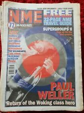 PAUL WELLER NME MAGAZINE MAY 13 1995  - PAUL WELLER COVER WITH MORE INSIDE UK