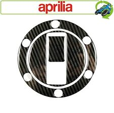 Motorcycle Fuel Filler Cap Cover Decal Carbon Effect Aprilia 6 Hole Design