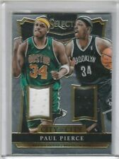 Paul Pierce 2014-2015 Panini Select City to City Jersey Patch #/199 CELTICS NETS