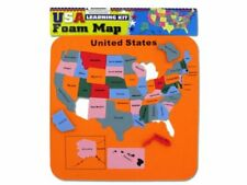 Usa Foam Map (Learning Kit with Removable Pieces) from Little Folks