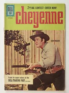 1961 CHEYENNE TV COMIC # 23~CLINT WALKER~ (VF-)
