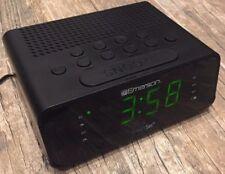 Clocks Learned Emerson Research Dual Alarm Auto Clock Set Radio Phone Smartset Convenience Goods
