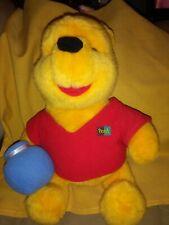"Winnie The Pooh Bear Large Plush Mattel Toy Stuffed Animal 12"" Tall 1994 Disney"