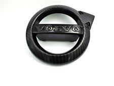 Volvo XC90 Black Carbon Fiber Front Grille Emblem OEM Badge Logo S90 V90 XC40