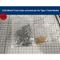 1/35 Scale Metal Track Links w/metal pin for German Tiger I Tank Model Kit