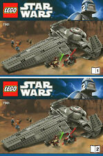 NOTICES ORIGINALES LEGO STAR WARS - MAUL'S SITH INFILTRATOR™ REF 7961 - 2011