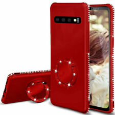 For Samsung S10 Plus S10e Case A8 S9 S8+ Ring Holder Shockproof Slim Back Cover