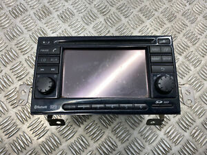 2012 NISSAN NOTE 1.5 DCI SAT NAV CD PLAYER UNIT WITH SD MAP CARD 25915BH50B OEM