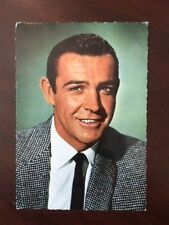 """1960's, Sean Connery (James Bond),""""Un-Used"""" Post Card"""