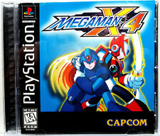 MegaMan X4 (PS1) Complete - Clean,Tested & Fast Shipping