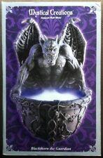 Gargoyle Wall Mister with Blue Leds - Halloween Goth (x2)