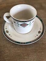 Studio Nova Adirondack Coffee Cup and Saucer Y2201