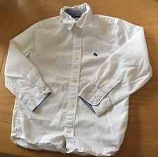 Boys Long Sleeved White H&M Shirt Size 4-5 Years