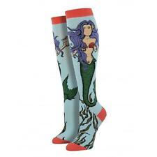 Socksmith Women's Socks Mermaid Knee High Sock Blue Novelty Footwear Sea Myth