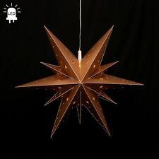 LED estrellas de Adviento Plegable Ø60 exteriores Navidad 11 Zack ORO 100209