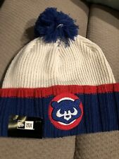 Chicago Cubs Winter Hat Knit Beanie By New Era