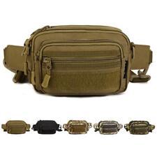 Multipurpose Camouflage Travel Outdoor Waist Pack/ Messenger Bag/ Handbag