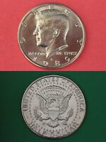 1989 P D Kennedy Half Dollars With 2 Capsules from Mint Set Combined Shipping
