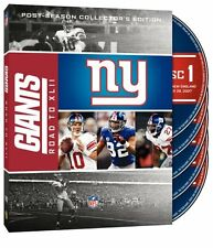 NFL New York Giants - Road to Super Bowl XLII 42 4er [DVD] NEU