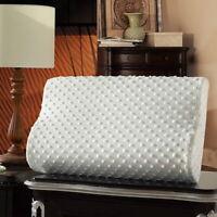 UK HOT 50x30x9cm Memory Foam White/Blue/Pink Cushion Cover NEW MAR Pillow Case