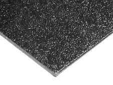 "BLACK ABS PLASTIC SHEET 1/8"" X 12"" X24"" VACUUM FORMING RC BODY HOBBY"