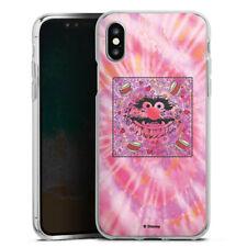 Apple iPhone Xs Silikon Hülle Case - Muppets Animal