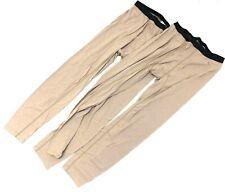 Drifire FR Thermal Pants, Silk Flame Resistant Base Layer Tan MEDIUM, 2 Pack
