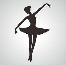 Wall Stickers personal Ballerina Ballet Dancer vinyl decal decor Nursery kids