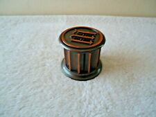"Vintage Heavy Made Brass Engraved Stamp Dispenser "" GREAT COLLECTIBLE ITEM """
