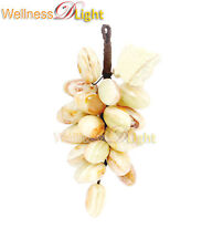 WDL ONYX MARBLE A BUNCH OF 25 GRAPES ONYX MARBLE FRUIT DECORATIVE POLISHED MULTI