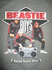 "Beastie Boys Solid Gold Hits (Med) T-Shirt Michael Diamond Adam ""Mca"" Yauch"