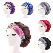 Salon Hat Sleep Satin Cover Waterproof Shower Hair Cap  Bath Reusable Head