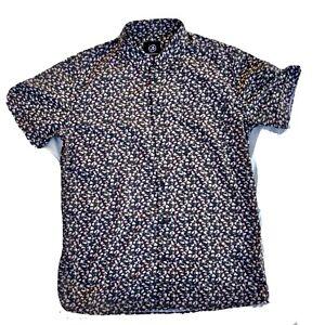 VON ZIPPER Dress Shirt Mens Size XL