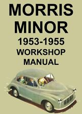 MORRIS MINOR Series 2 WORKSHOP MANUAL: 1953-1955