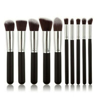 10PCS Professional Makeup Brush Set Cosmetic Kit Blush Eyebrow Foundation Face