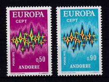 Andorra 238 - 239 ** postfrisch Cept 1972 Michel 20,00 € MNH