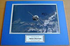 HELEN SHARMAN hand SIGNED autograph 16x12 photo mount display BRITON SPACE & COA