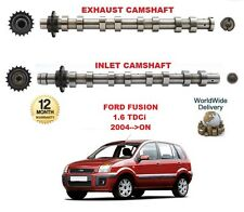 FOR FORD FUSION 1.6 TDCi 2004-->ON NEW INLET & EXHAUST ENGINE CAMSHAFT