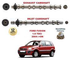 für Ford Fusion 1.6 TDCi 2004 > nach NEU Einlass & Auspuff Motor Nockenwelle